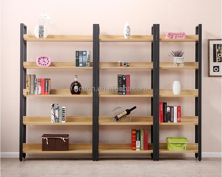 Madera/metal exhibición de la tienda de muebles de diseño ...