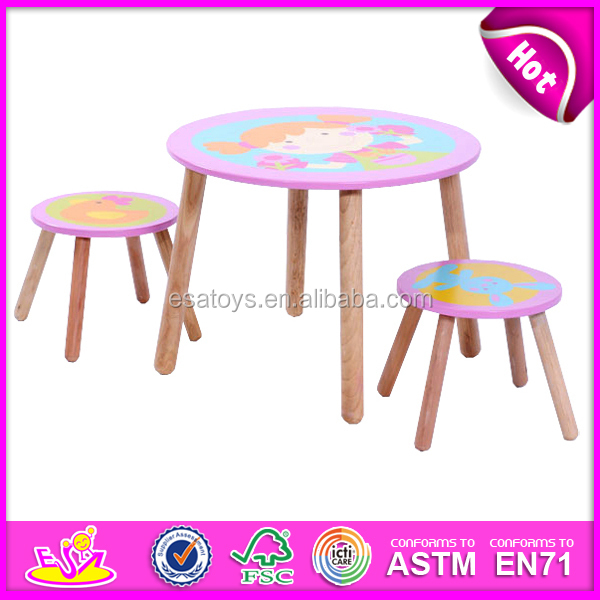 Table And Four Chairs Set For Kids,dining Table And Chair Toy For Children,
