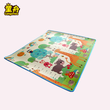 1.5cm thick xpe foam soft exercise children play mat