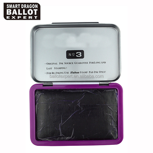Factory Price Refill Dry Ink Election Finger Print Stamp Pad