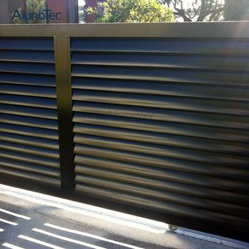 Aluminium Screen Louver Fence Panels Fence Gates Buy