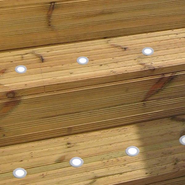 Ultra Thin 9mm Recessed Stair Light Floor Lighting Led (SC-B101A)
