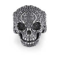 JMY New jewelry Fashion Skull Ring For Men, New Stainless Steel Ring For Men