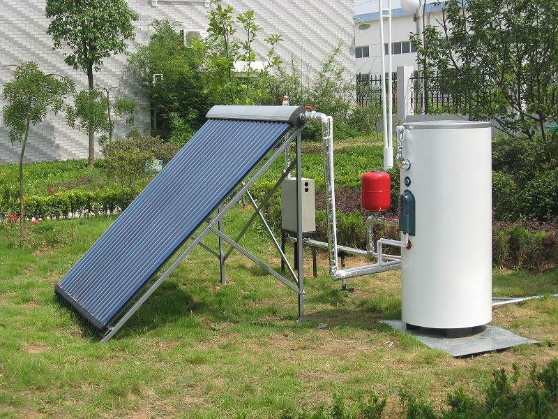 doccia esterna split solare di acqua calda del sistema di riscaldamento-Panne...
