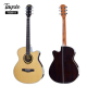 China factory wholesale musical instruments high end spruce cheap electric guitar acoustic