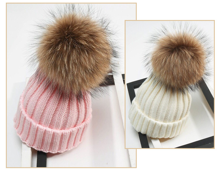 Styles Custom Girls Fashion Acrylic Knitting Beanies Hats