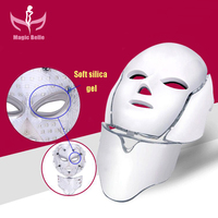 High quality Skin Rejuvenation IPL light therapy acne treatment 7 Colors PDT LED Facial Mask in usa