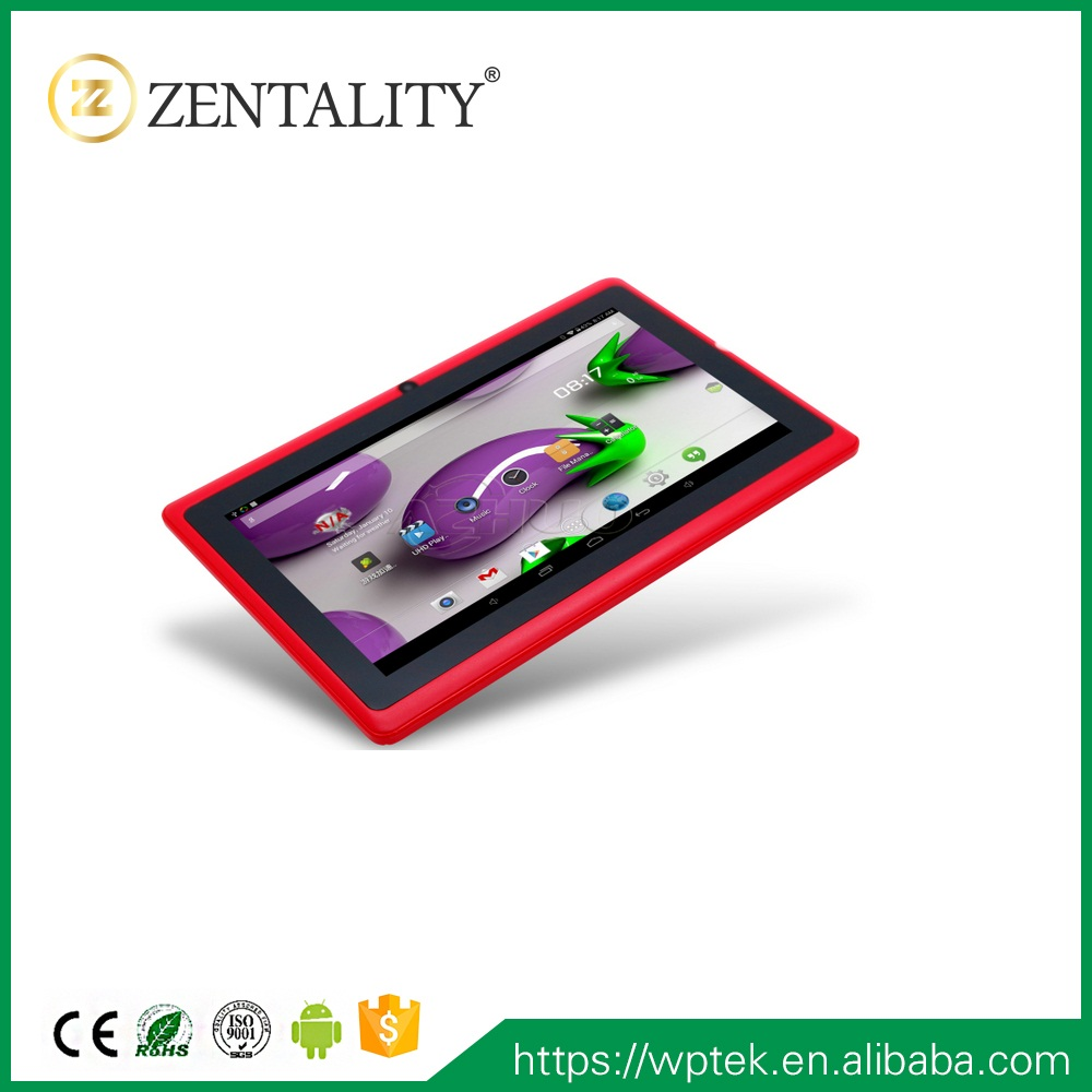 "new design 7 "" inch Custom Tablet 7inch wifi with customized plastic houisingwith protective rubber housing"