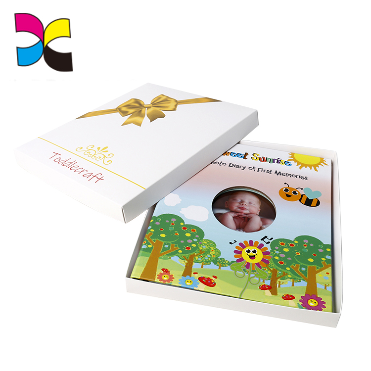 Printing High Quality Full Color Hardcover Custom Baby Record Book
