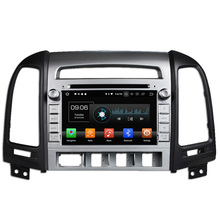 Android 8.0 4 + 32G Car Video DVD GPS Sistema Multimediale Per Hyundai Santa Fe 2007-2012