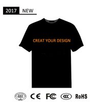 sound activated led t shirt wholesale custom led t-shirt led t shirt wholesale