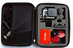 AGPtek Small Carry Travel Storage Protective Bag Case for GoPro HERO 960 1 2 3 3+ Camera (Small)