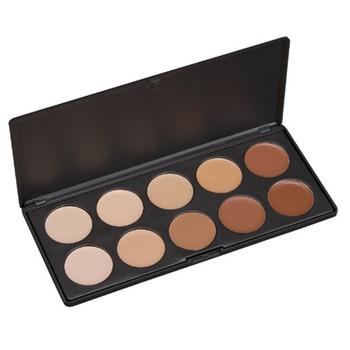 Hot Cream Makeup Concealer Kit 10 Colors Name Brand Makeup Concealer