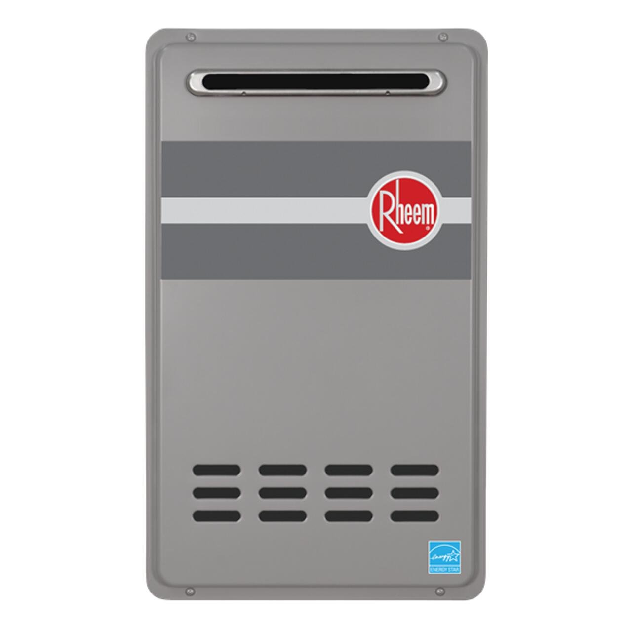 Rheem RTG-84XLP 8.4 GPM Low NOx Outdoor Tankless Propane Water Heater