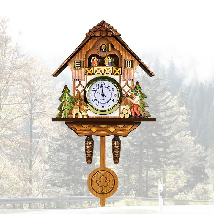 Cuckoo Clock Sale Wall Clock With Bird Sound Coo Coo Clocks In ...