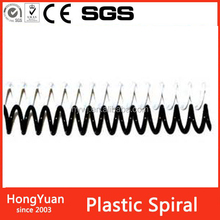 Back to school stationery PVC Plastic Spiral Coil Binding Wire for office and school supplies