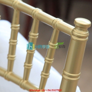 Factory wholesale gold chiavari sillas tiffany chivary chair