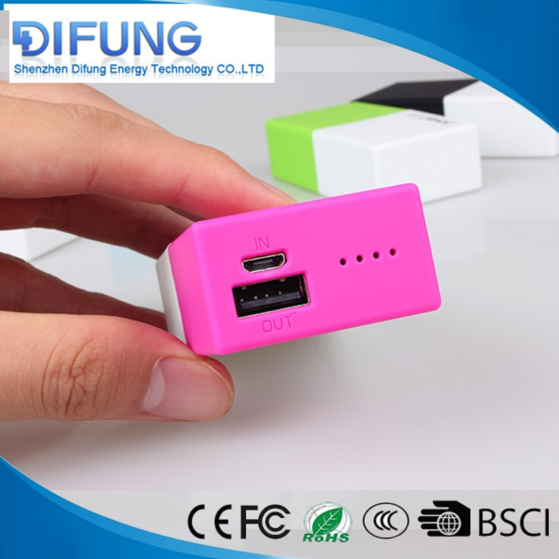 Best price of welding machine 5000mAh OEM mobile charging power bank For Phone