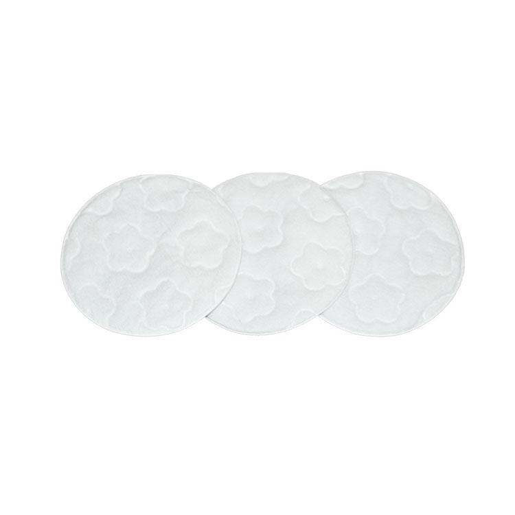 Popular Lady Make Up Soft Embossing  Cosmetic Round Cotton Pads