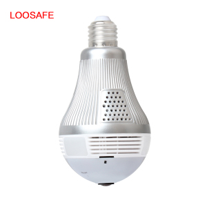 Hot in sale wifi bulb camera 360 degree night vision spy camera wireless ip wifi 3mp