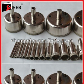 Diamond Drilling Core Drill Bits Cut Hole In Ceramic Tile