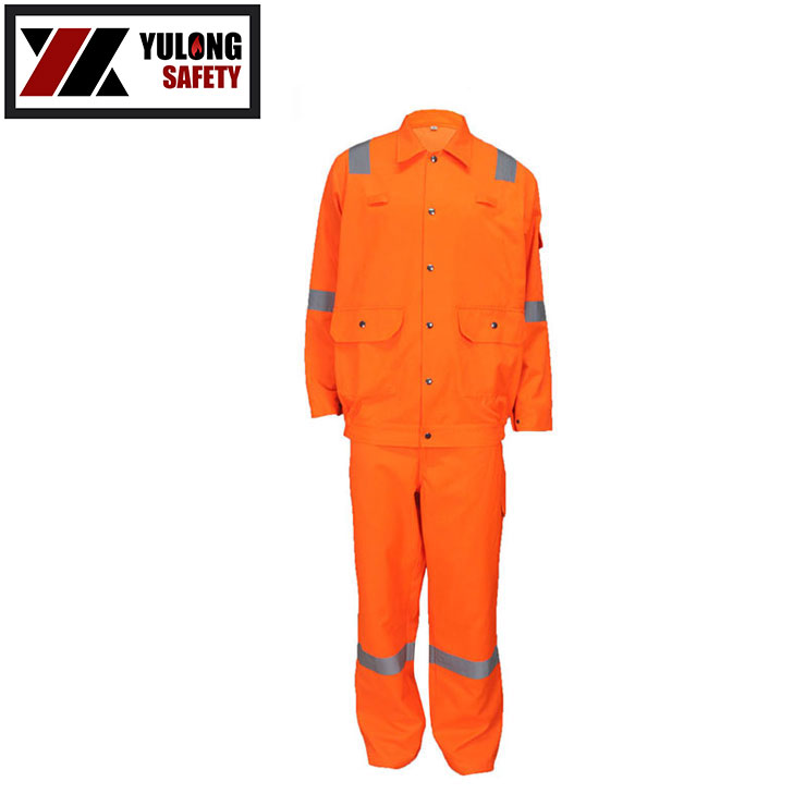 China Wholesale Cheap EN20471 Fluorescent Warning High Visibility Soft Works Clothing