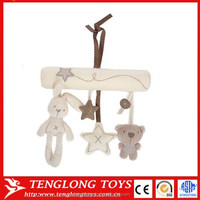 oem factory new product high quality plush toy rabbit hang bed hang