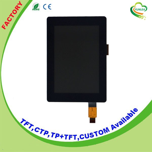 Yunlea factory 320x480 pixels 3.5 inch tft lcd panel with touch screen capacitive type