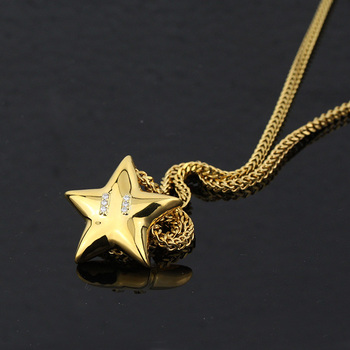ff53cc0230c675 Shiny New Simple Gold Pendant Design,Gold Star Pendant Necklace ...