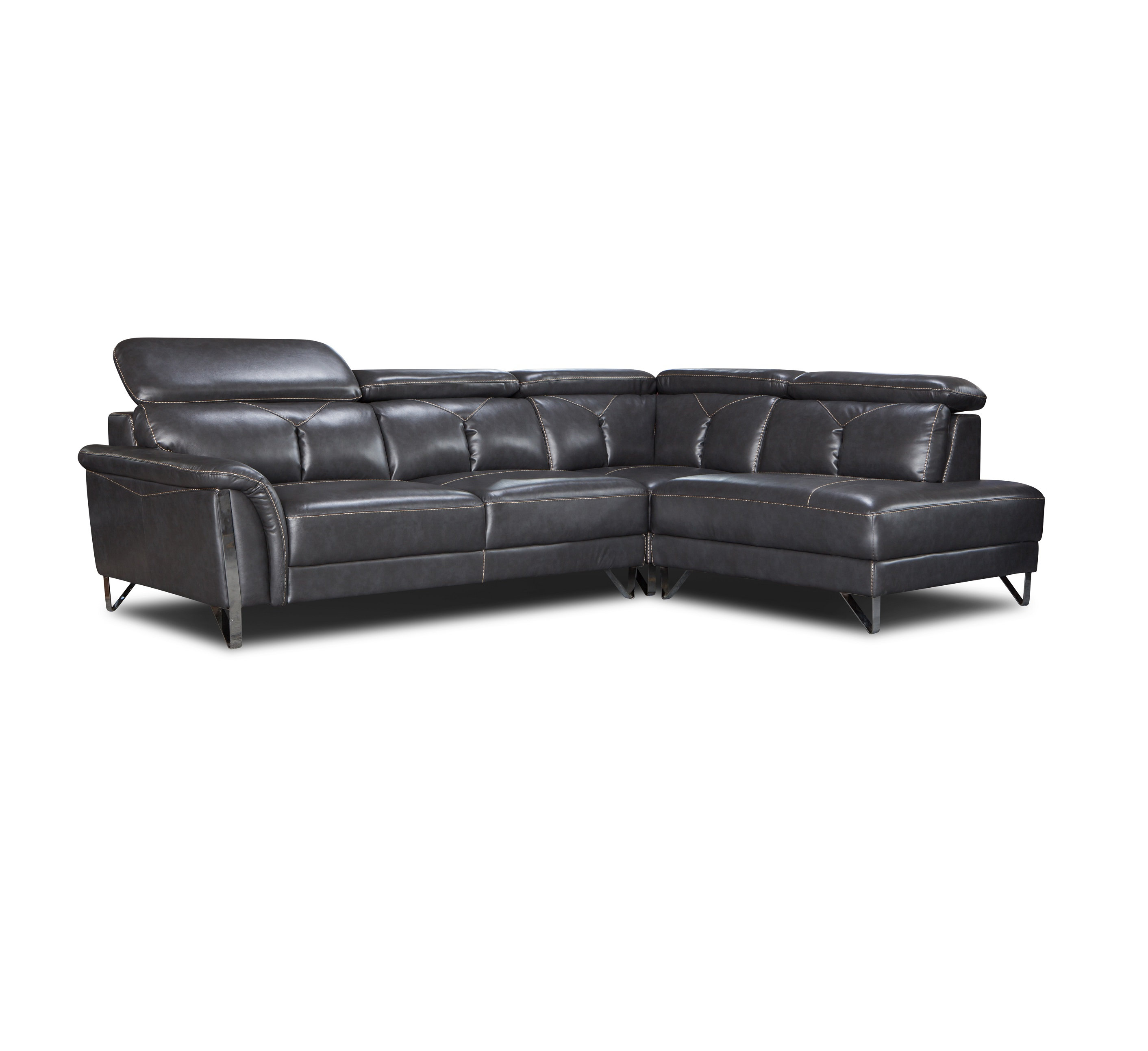 Modern Furniture Recliner Leather Sectional Sofa With Cup Holder Buy Sectional Sofa Leather