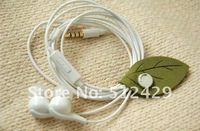 2012 now very Fashion Can wipe screen Leaves USB data cable cord wire Organizer Bobbin Winder