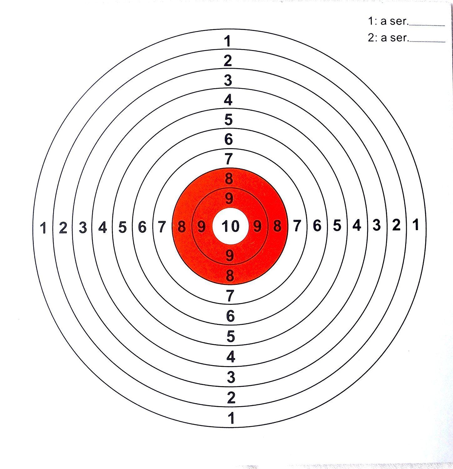 14cm Card paper 1000 FUNNEL Targets For Air Rifle//Airsoft DISCOUNTED