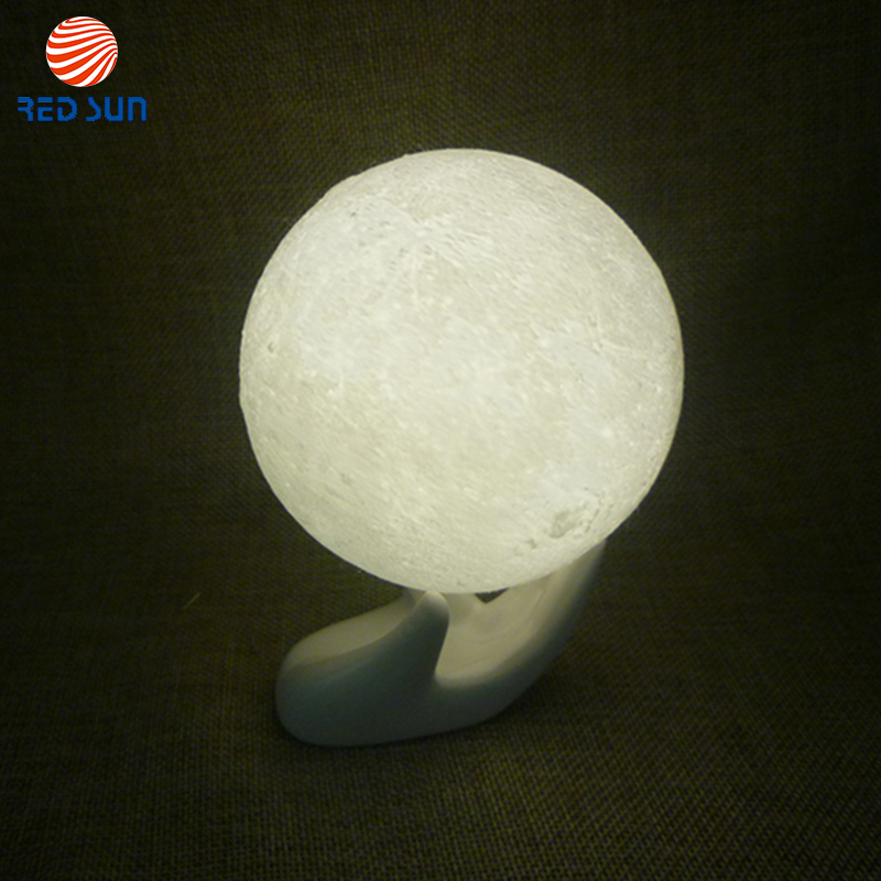 Touch Control Floating Moon Lamp With Usb Port