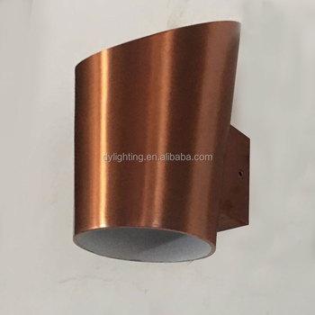 Brass Main Gate Pillar Light For Brass Outdoor Lighting Fixture Outdoor LED  Stone Wall Light