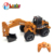 long time playing 1/18 radio control engineering metal excavator toy with 6 channel
