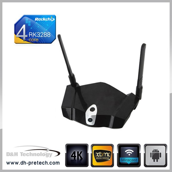 Big Discount 4K video Quad core RK3288 1.8Ghz wifi TV box with nordstrom