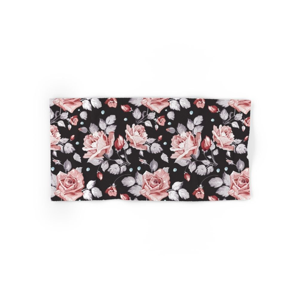 Buy Society6 Vintage Pink Rose Flowers Set Of 4 2 Hand Towels 2