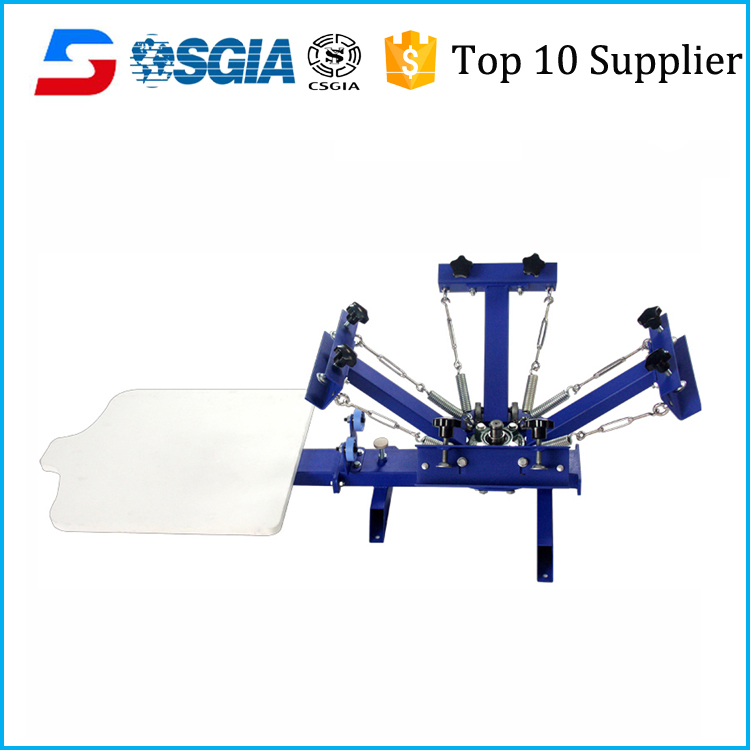 OEM offered plastic bucket screen printing machine
