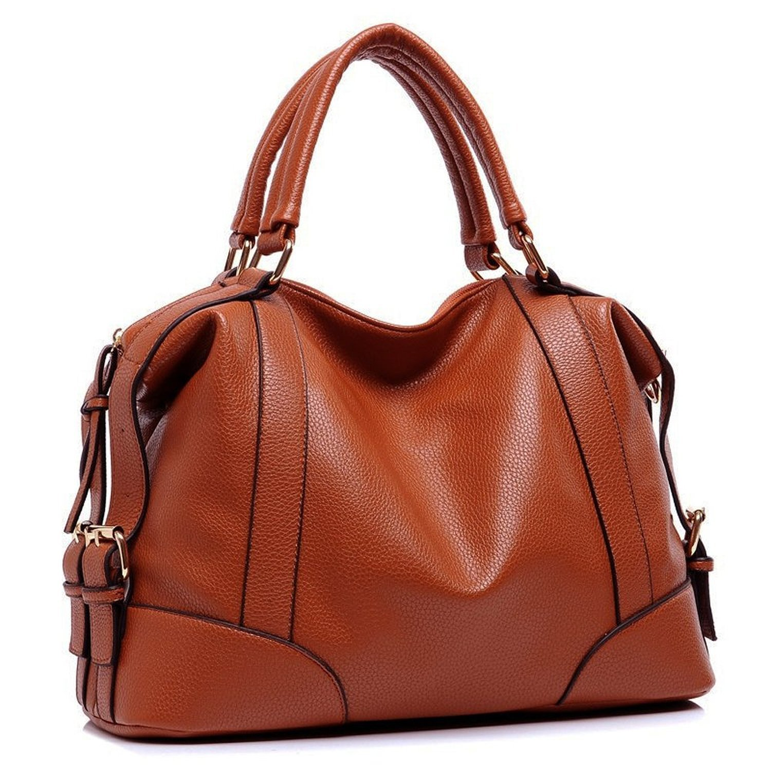 Get Quotations · Tom Clovers Summer New Women Genuine leather Leisure  Shoulder Bag Office Lady Simple Style Top Handle b29c539468