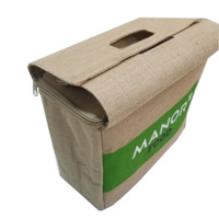 Large Jute Insulated Shopping Grocery Bags w ZIPPER TOP LID Thermal Cooler Tote KEEPS FOOD HOT OR COLD