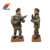 Customized Pewter Alloy Pewter Metal Miniature Lead Toy Soldiers Model Figurine
