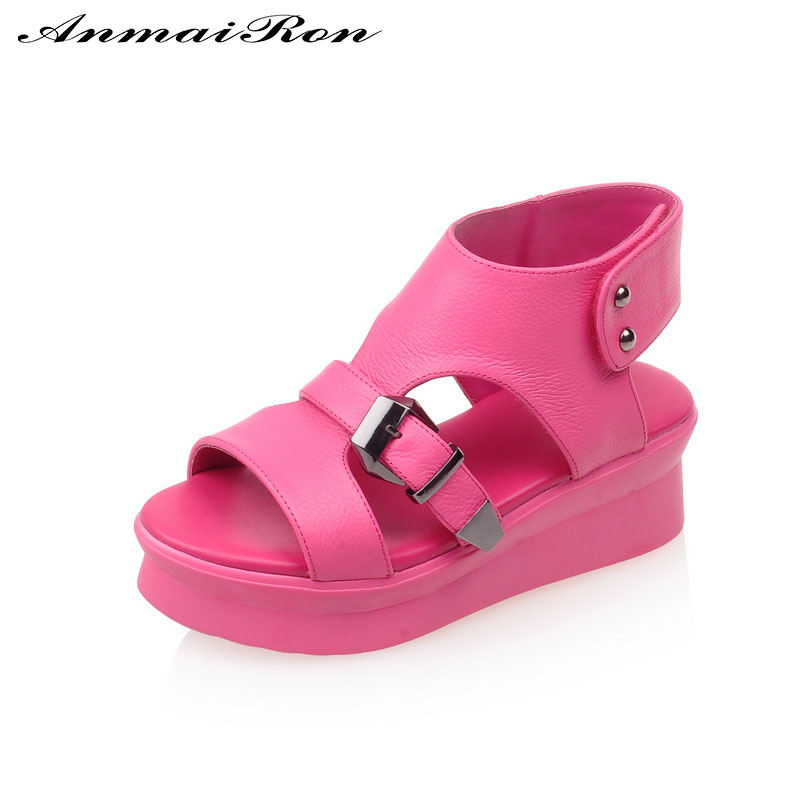 fashionable peep toe casual comfortable shoes for girl ladies sandals wholesale china