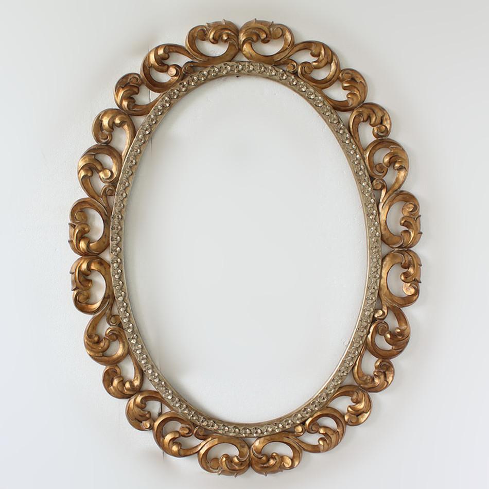 Fabrik Großhandel Dekoration Antike Gold Gerahmte Spiegel - Buy ...