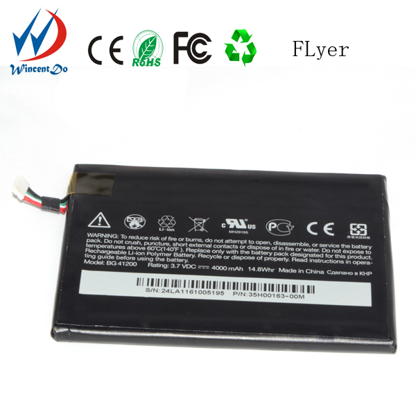 Wholesale OEM cell phone accessory battery back cover high capacity battery for htc p510e