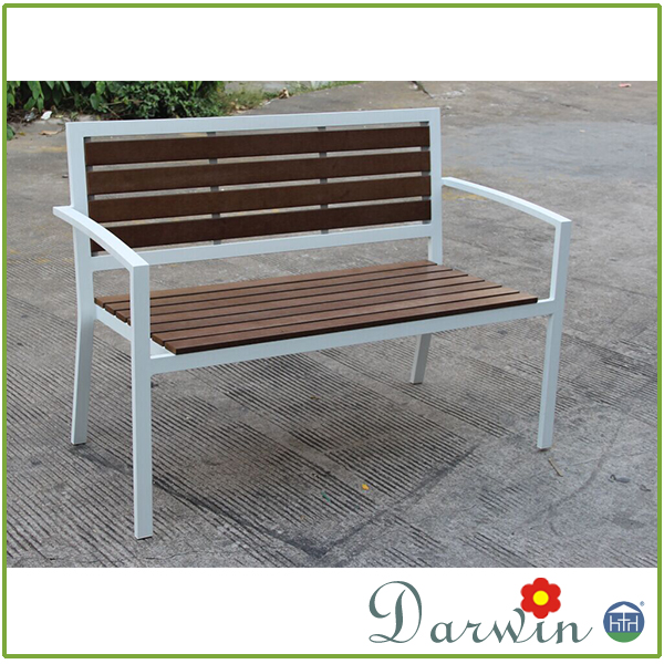 Outdoor furniture front porch bench wooden garden