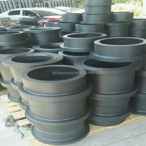 HDPE pipe fitting stub end flange adaptor hdpe pipe plastic flange