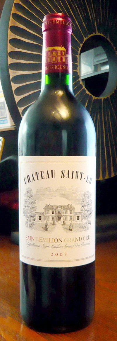 French Wine Bordeaux Saint Emilion Grand Cru