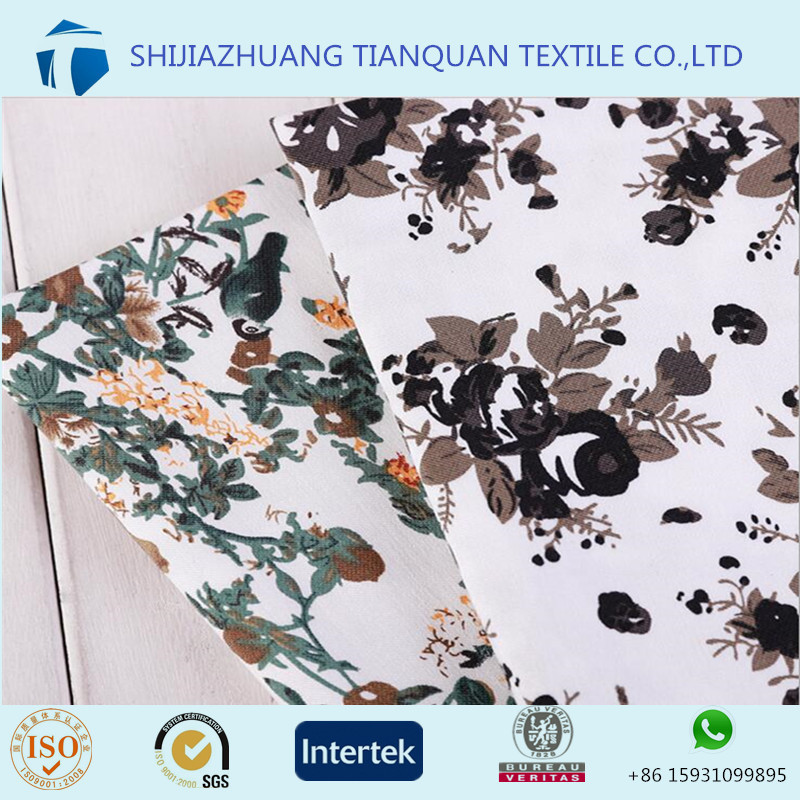Custom chinese 100% viscose printed fabric with your own designs for beautiful dress
