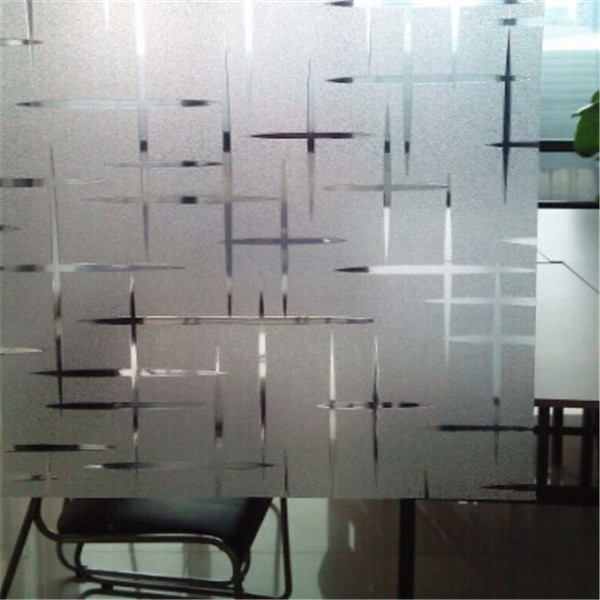 Decorative window film designer glass film s019 glass for Window vinyl design