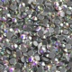 Quality glass crystal hotfix stones self adhesive rhinestones for fabric AB color